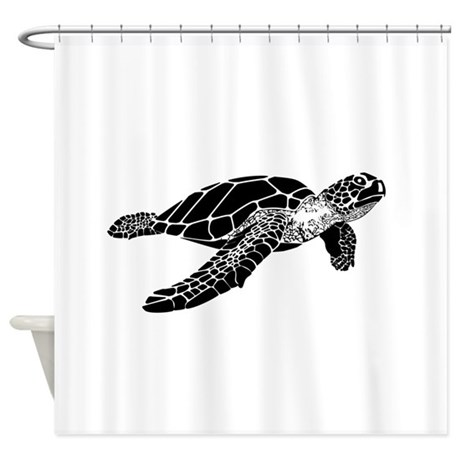sea turtle white background t-shirtcopy.png Shower