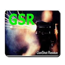 GSR Forensic Mousepad