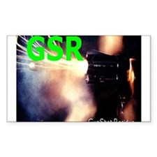 GSR Forensic Rectangle Decal