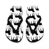 Rottweiler sandals Flip Flops