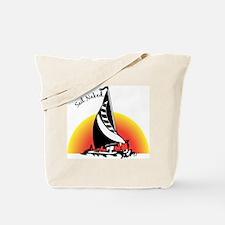 Sail Naked Tote Bag