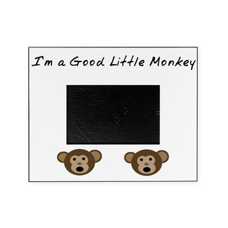 I'm A Good Little Monkey Picture Frame