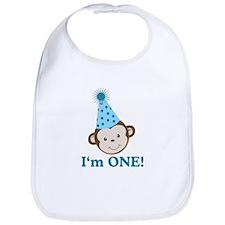 Im ONE Boy Monkey Bib