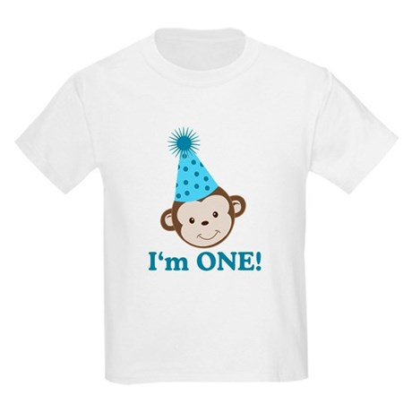 Im ONE Boy Monkey Kids Light T-Shirt