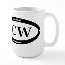 CCW Welcome, Black & White Mug