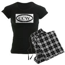 CCW Welcome, Black & White Pajamas