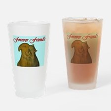Forever Friends Drinking Glass