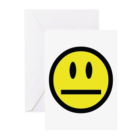 Smiley Face Greeting Cards (Pk of 10)