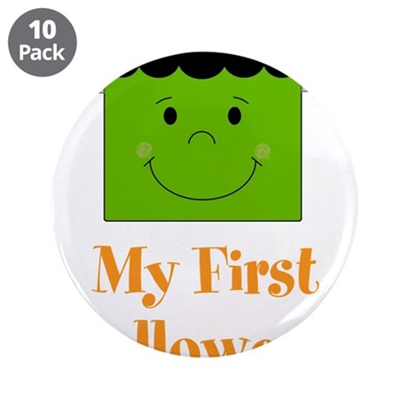 "My First Halloween 3.5"" Button (10 pack)"