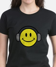 Smiley Face Music Lover Tee