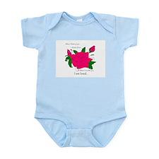 Rose-Symbol of Love Infant Bodysuit