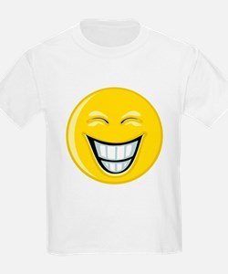 Smiley Face Grin T-Shirt