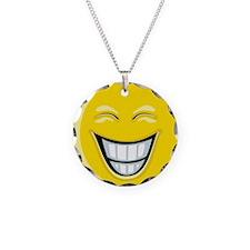 Smiley Face Grin Necklace