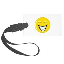 Smiley Face Grin Luggage Tag