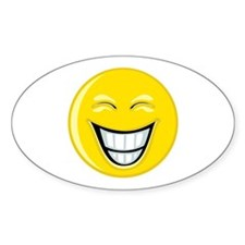 Smiley Face Grin Decal