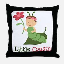 Little Cousin - Caterpillar Throw Pillow