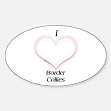 BC Heart Oval Decal