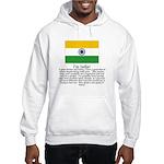 India Hooded Sweatshirt