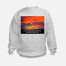 Faith Hope Love Sweatshirt