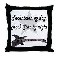 TECHNICIAN Throw Pillow