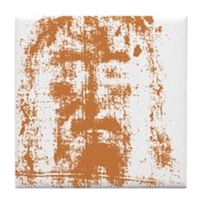 Jesus, Shroud of Turin Tile Coaster