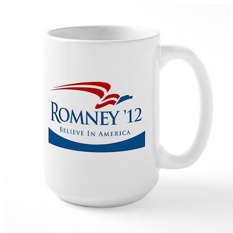Romney 2012 Believe Large Mug