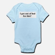 Out of bed Infant Creeper