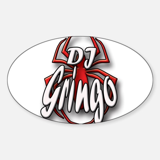 Cute Gringos Sticker (Oval)