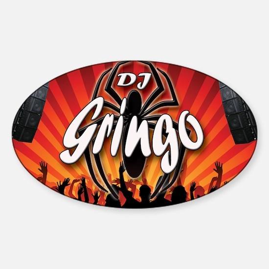 Unique Gringos Sticker (Oval)