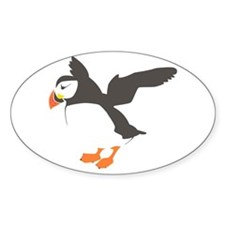 Puffin with Wings Decal