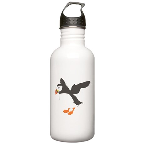 Puffin with Wings Stainless Water Bottle 1.0L
