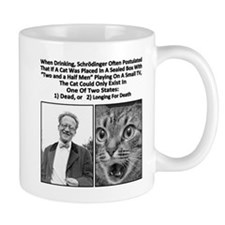 Schrodinger 39 s cat drunk two and a half men coffee mugs schrodinger 39 s cat drunk two and a half - Two and a half men coffee mug ...