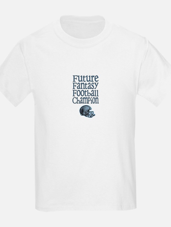 Future FF Champ (Blue) Kids T-Shirt