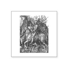 Albrecht Durer Knight Death and the Devil Square S