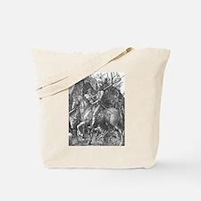 Albrecht Durer Knight Death and the Devil Tote Bag