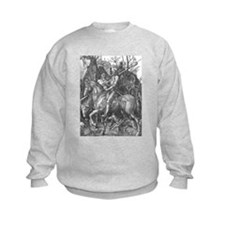 Albrecht Durer Knight Death and the Devil Sweatshirt