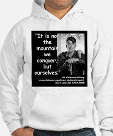 Hillary Conquer Quote 2 Hoodie