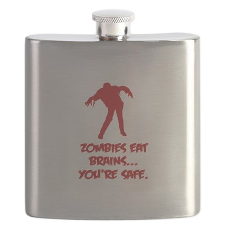 Zombies eat brains... You're safe. Flask