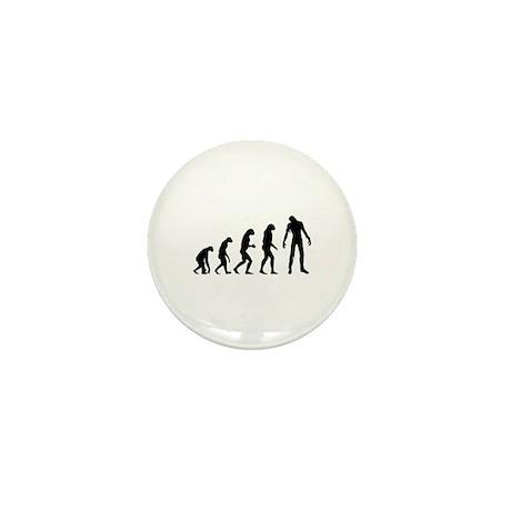 Evolution zombie Mini Button (10 pack)