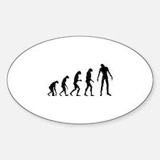 Evolution zombie Decal