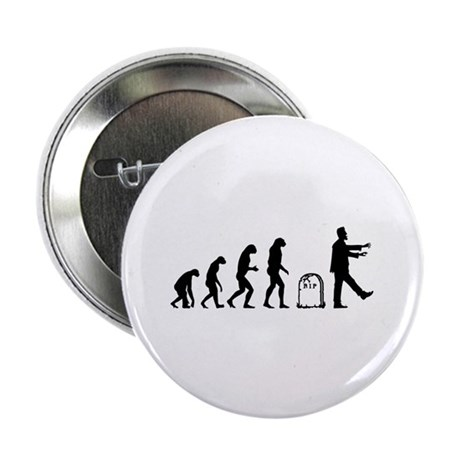 """Evolution zombie 2.25"""" Button (100 pack)"""