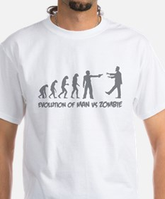 Evolution of man vs zombie Shirt