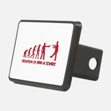Evolution of man vs zombie Hitch Cover