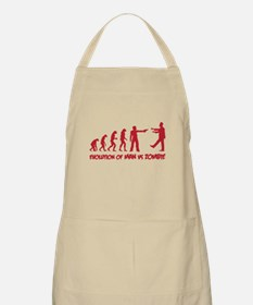 Evolution of man vs zombie Apron