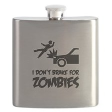 I don't break for zombies Flask