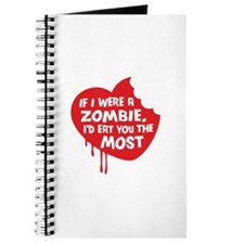 If I were a zombie, I'd eat you the most Journal