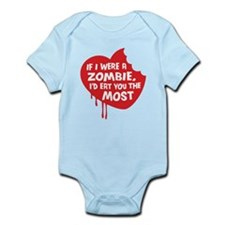 If I were a zombie, I'd eat you the most Infant Bo