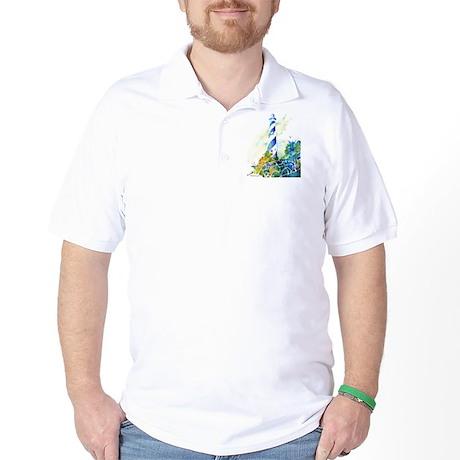 Cape Hatteras Lighthouse Golf Shirt