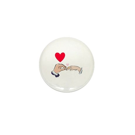 Wedding Mini Button (10 pack)