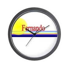 Fernando Wall Clock
